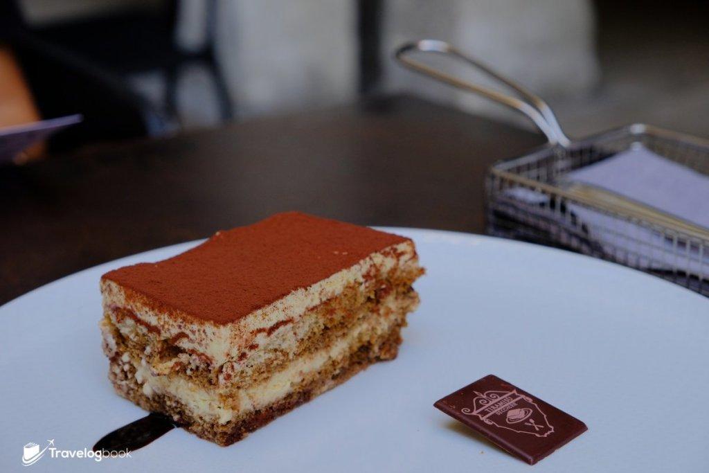 在Treviso可品嘗到最正宗的Tiramisu,每件7歐元。