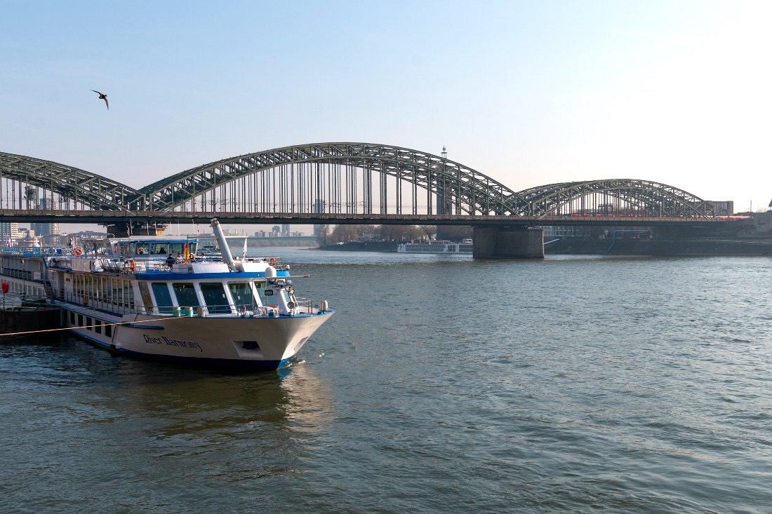 Boottocht in Keulen