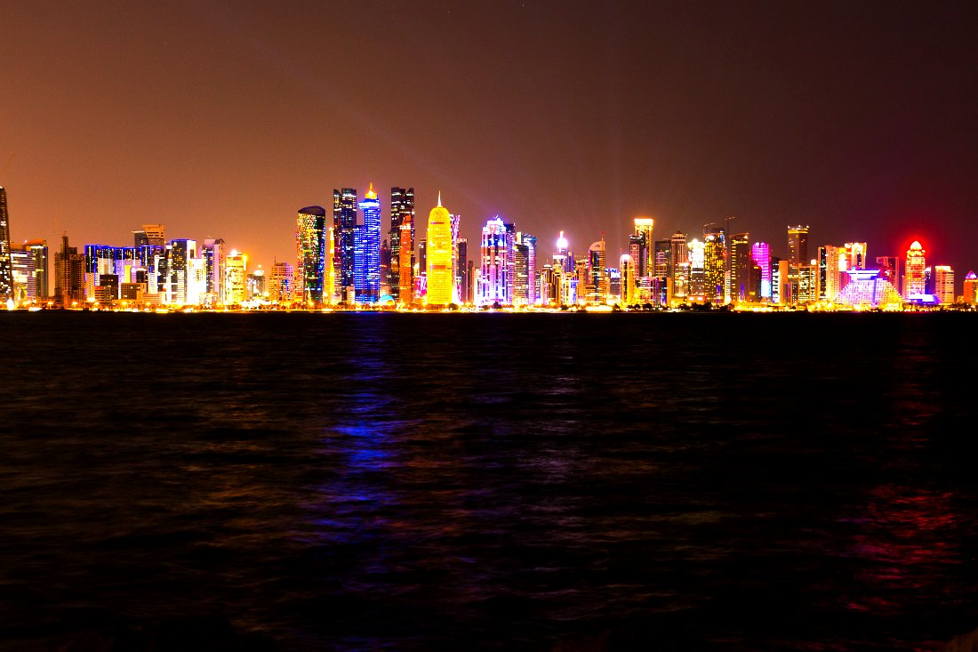 Skyline Doha Qatar Qatar