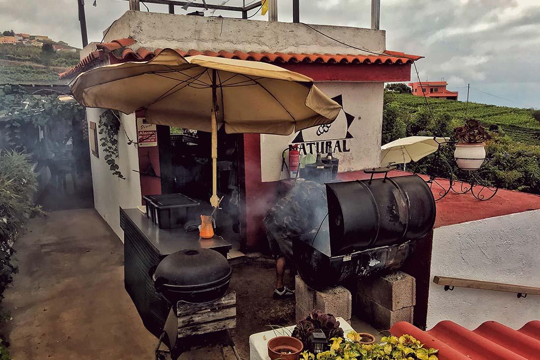 Guachinche restaurant op Tenerife