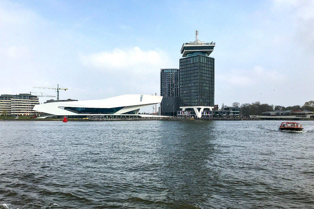 Veerboot in Amsterdam
