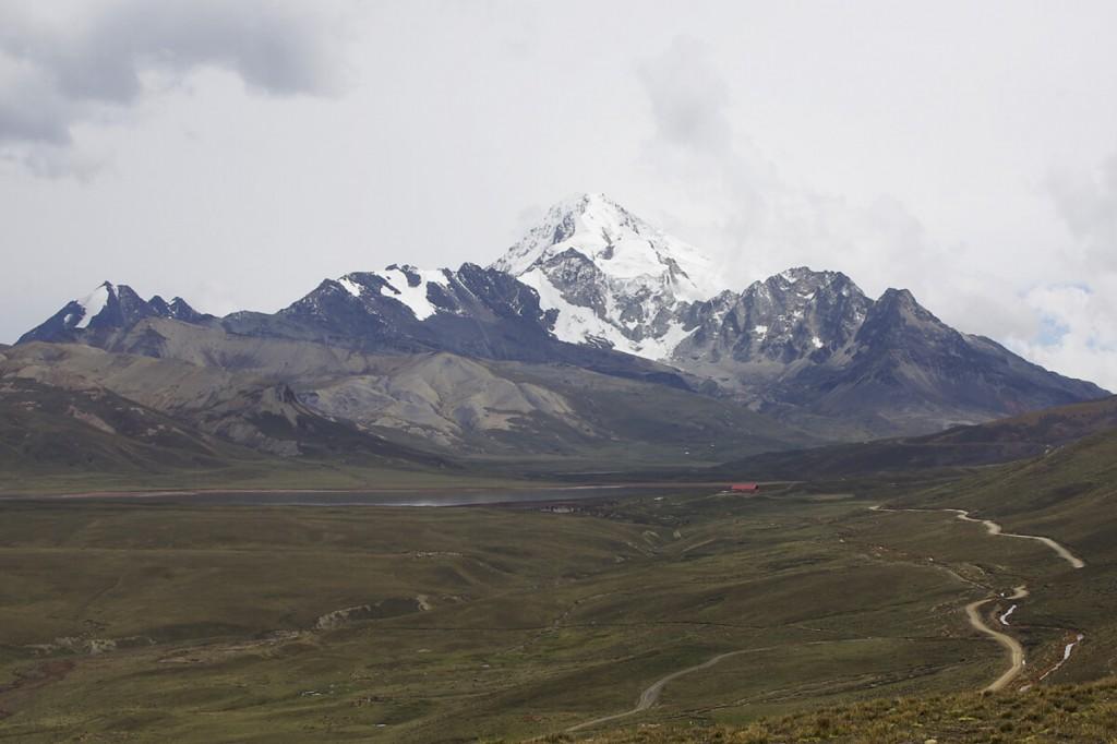 Huayna Potosi in den Bolivianischen Anden