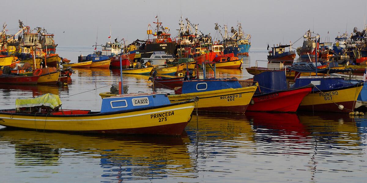 Hafen im Norden Chiles