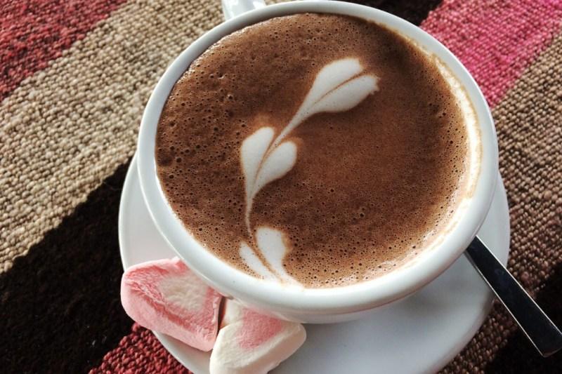 Kaffee mit Herzen