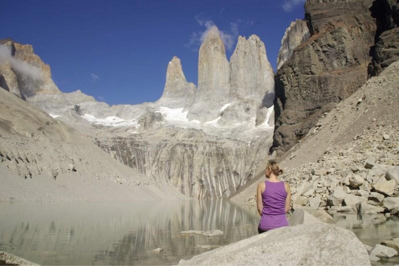 Trekking im Torres del Paine Nationalpark in Chile