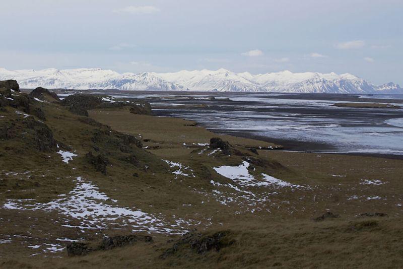 Island: Gletscher bedecken die Insel