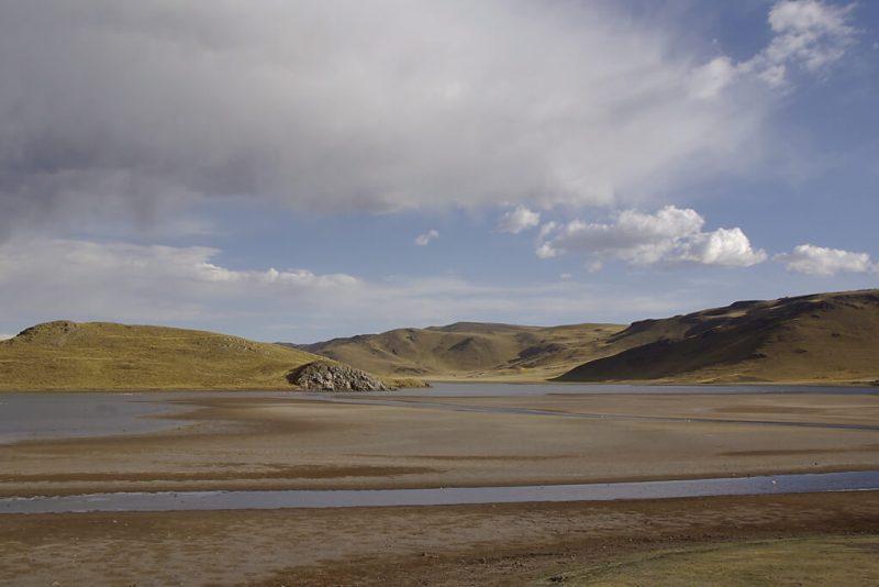 Hochebene in den Anden von Peru