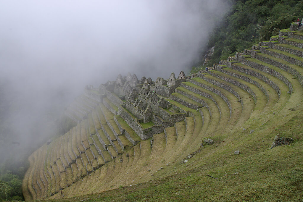 Inkaruine Winay Waynal am Inka Trail