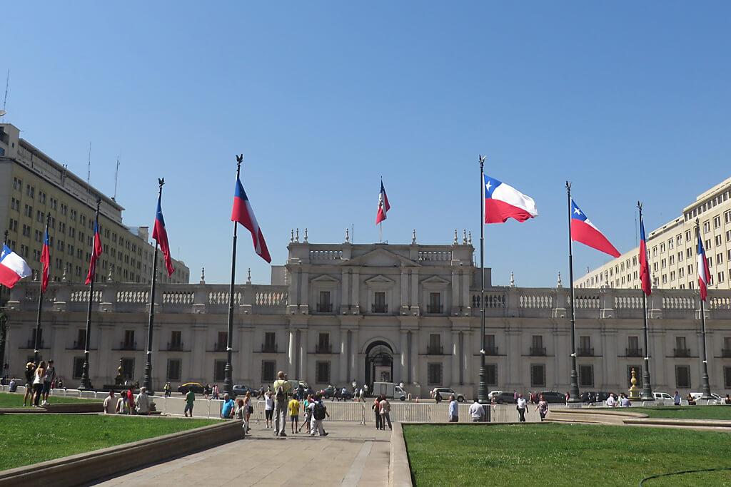 Regierungspalast in Santiago de Chile