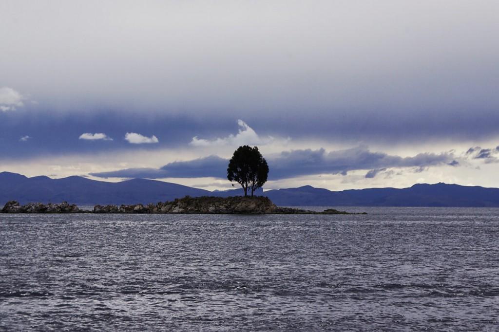 Inseln im Titicacasee