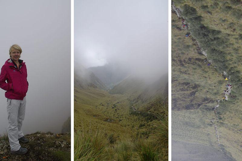 Trekking auf dem Inka Pfad zu Machu Picchu