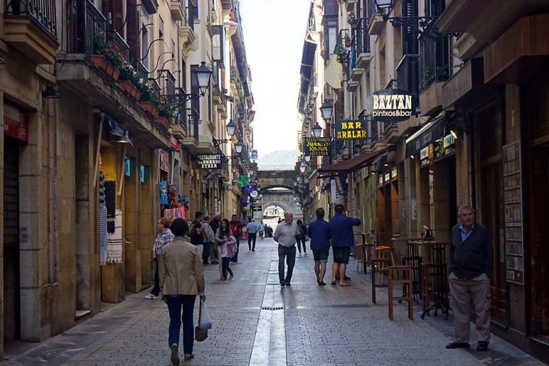 Parte Vieja in San Sebastian