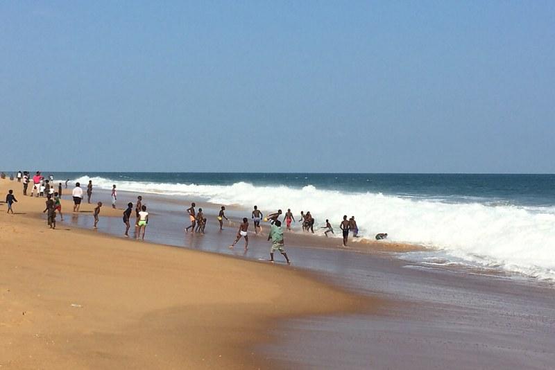 Strand in Togo