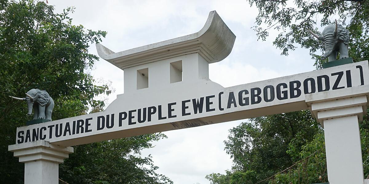 Die Wiege der Ewé in Notse in Togo