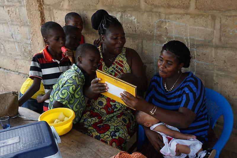 Geschenke zu Weihnachten in Togo