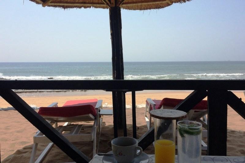 Strand vom Hotel Madiba, Lomé