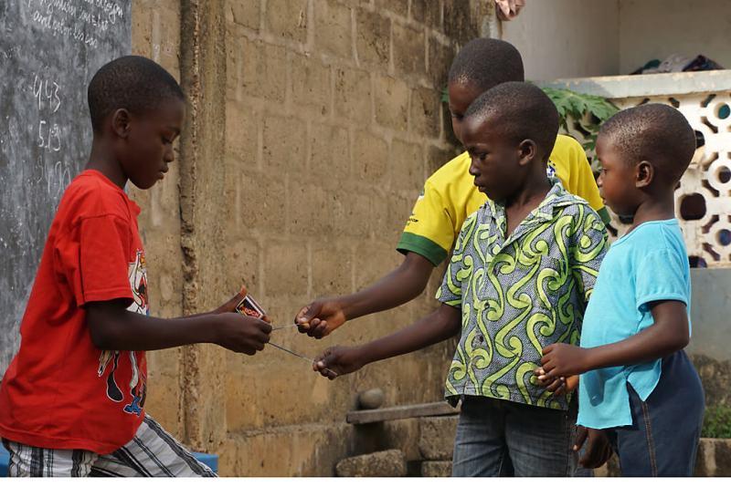 Kinder in Togo