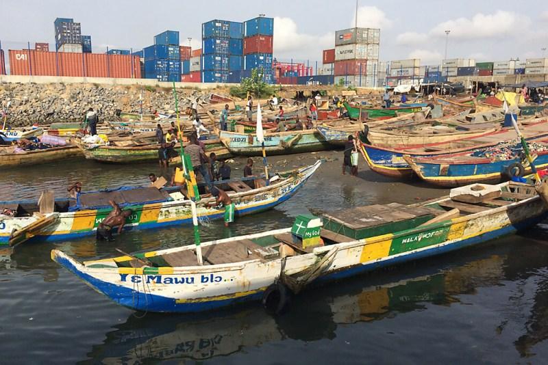 Fischmarkt von Lomé