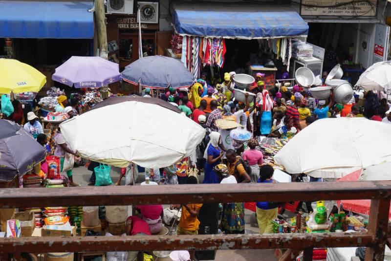 Markt von Accra