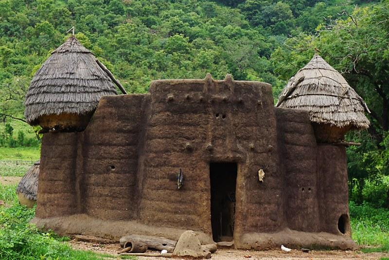 Welterbe: Tatas oder Tatienka in Togo