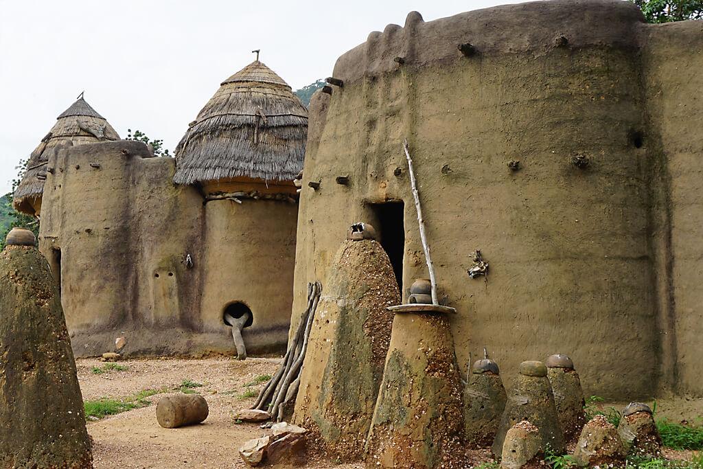 UNESCO-Welterbe in Togo - die Kulturlandschaft der Koutammakou
