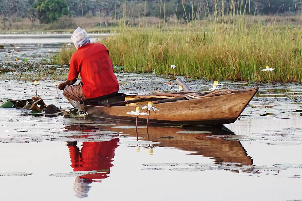 Fischer Lac Tengrela Burkina Faso
