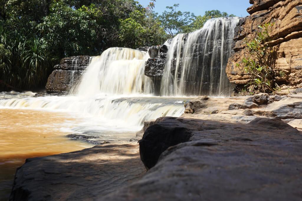 Wasserfall bei Banfora in Burkina Faso