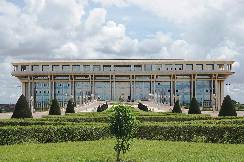 Fondation de la Paix in Yamoussoukro in der Elfenbeinküste