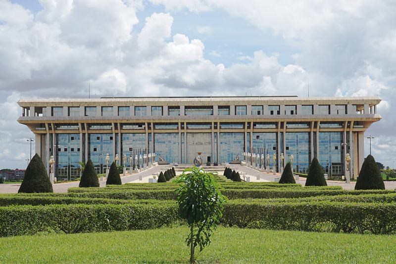 Fondation de la Paix in Yamoussoukro in der Elfenbeinküste