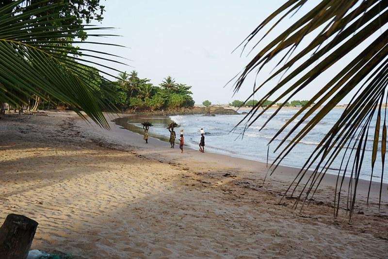 Strand in Ghana - Ezile bay