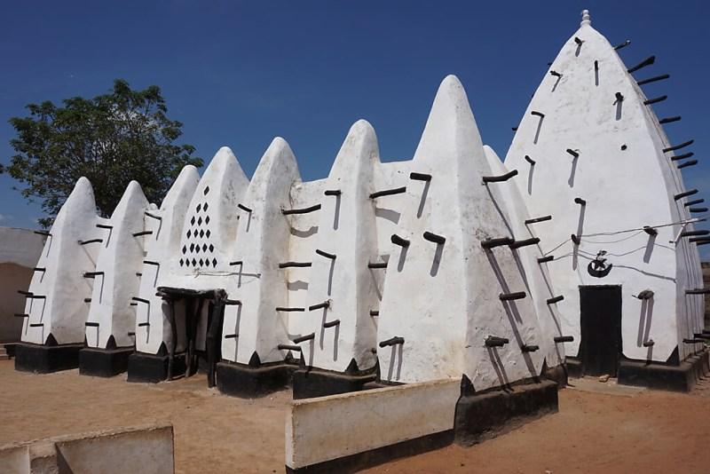 Moschee Larabanga in Ghana