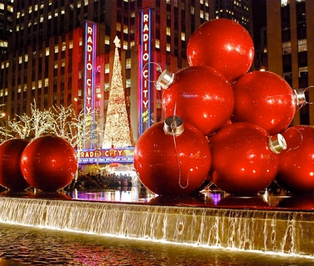 There Are Skaters In Central Park The Rockettes At Radio City Music Hall And Christmas Cheer Wherever You Go In The City