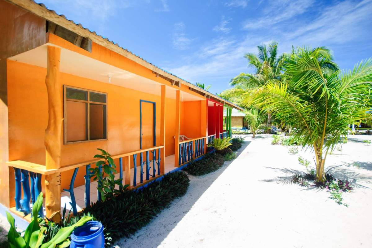 Cagbalete Technicolor rooms at Joven's Beach Resort