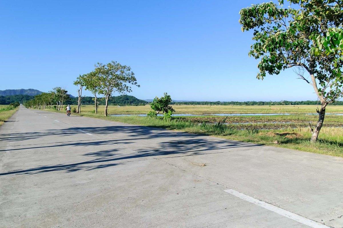 The road to Pagudpud