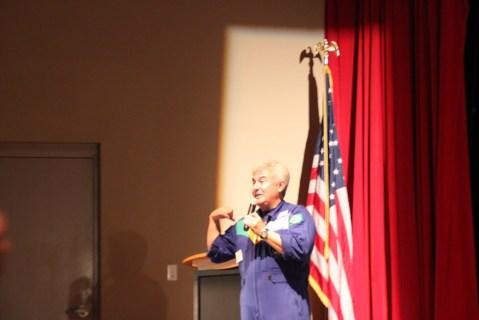 ... erzählt Marcos Pontes, selbst Astronaut auf der International Space Station, in einem Vortrag.