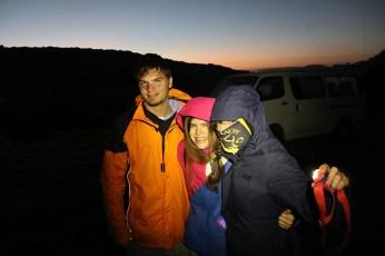 Kurz vor Sonnenaufgang im Aberdare Nationalpark