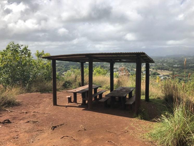 The vista from the Nounou picnic spot