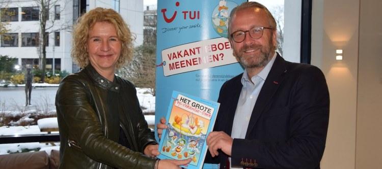 Donald Duck vakantieboek in alle TUI winkels