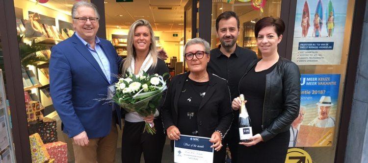 TravelXL Katwijk is door MSC Cruises verkozen tot Star of the Month