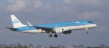 KLM Cityhopper heeft twee extra Embraer 190's besteld