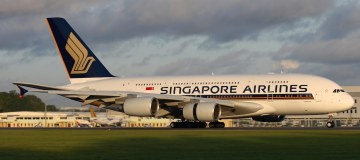Singapore Airlines Airbus A380-800