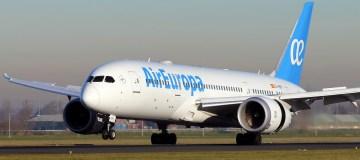 Capaciteitsuitbreiding Air Europa op en vanaf Schiphol