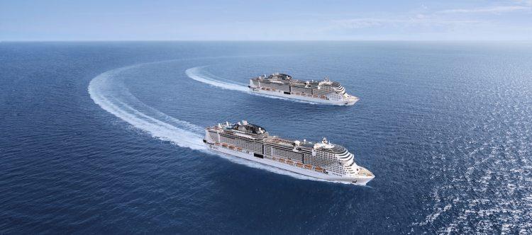 MSC Cruises: vluchten en transfers gratis