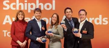 Schiphol Aviation Awards: American Airlines, Transavia en KLM in de prijzen