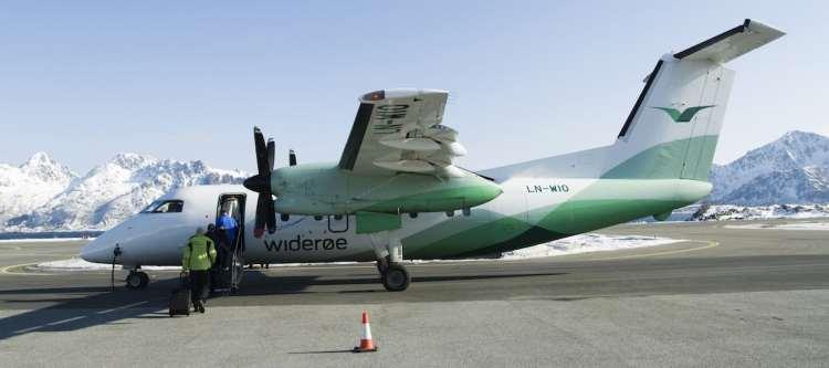 KLM: codeshare-overeenkomst met Widerøe