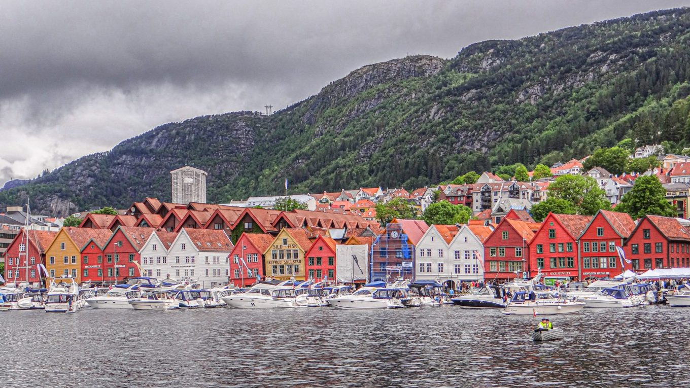 A Melodious Morning in Bergen, Norway