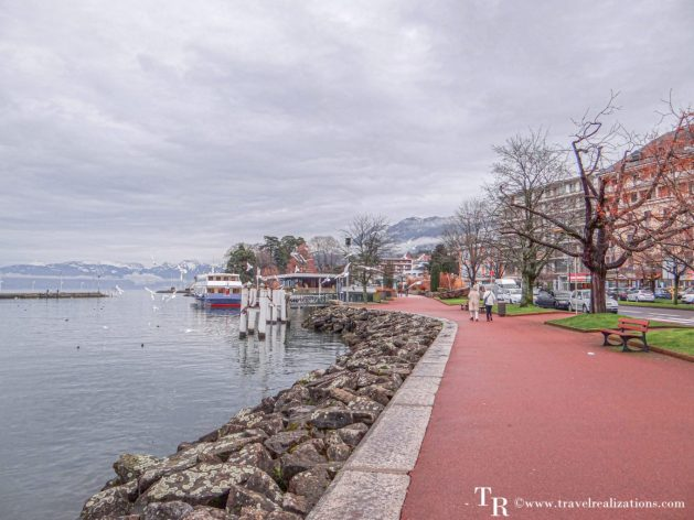 A voyage across lake Geneva, Travel Realizations, Evian, France