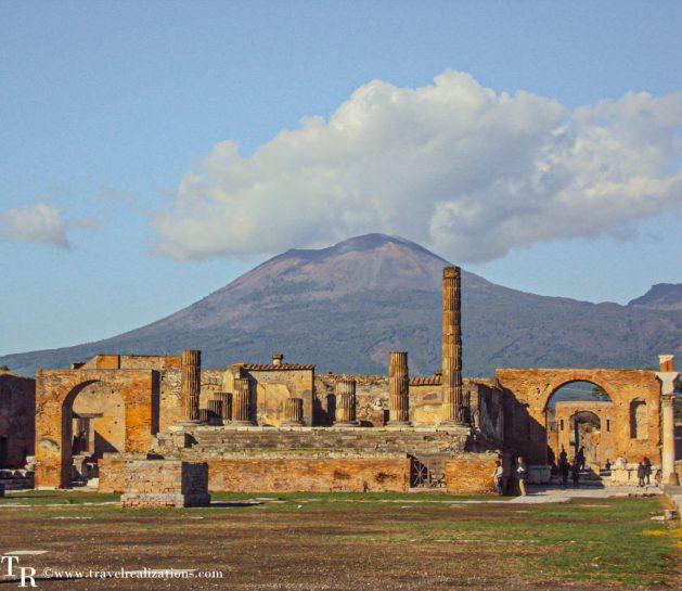 Exploring the threshold of death -Mount Vesuvius, Travel Realizations , Pompeii