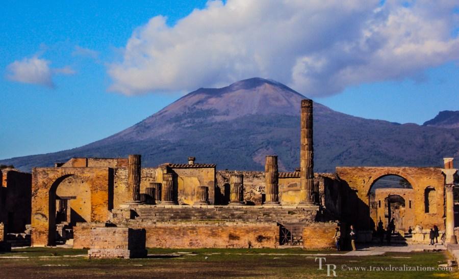 Travel Realizations, Pompeii, Mount Vesuvius