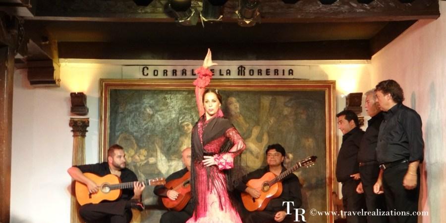 Flamenco in Madrid, Spain.